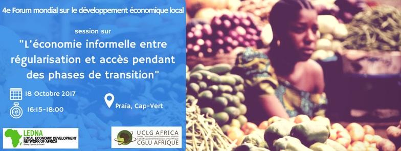 Afrique : 4e Forum Mondial sur le Développement Economique Local : Les collectivités territoriales d'Afrique se penchent sur l'économie informelle et le changement climatique