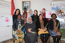 Staff Féminin ce 8 mars 2018 au Siège de CGLU Afrique ( Rabat, Maroc).JPG